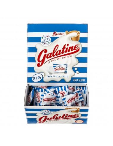 Galatine Caramelle al Latte, Box da...